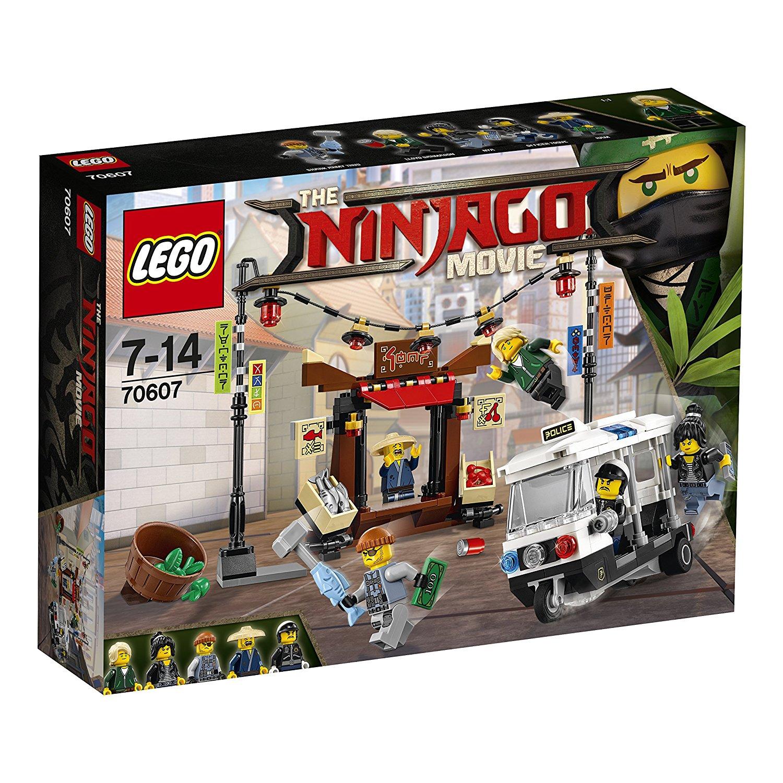 LEGO - 70607 - Lego Ninjago - Jeu de Construction - La Poursuite dans la Ville (Jouet)