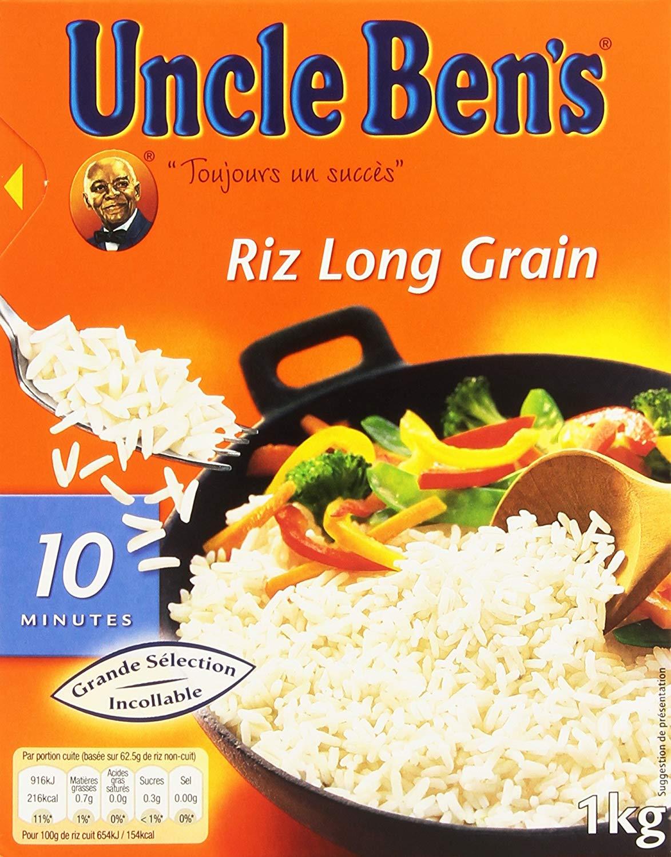 12 kg Riz Longs Grains Uncle Ben's
