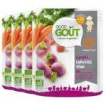 Good Goût : navets carottes veau, dès 12 mois (lot de 4)