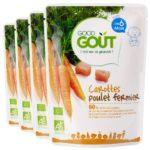 Good Goût : purée carottes poulet, dès 6 mois (lot de 4)